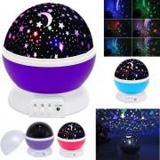 Lampa veghe proiectie stele si luna cu rotatie 360 Star Master