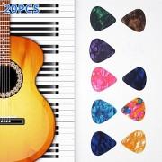 Alcoa Prime Guitar Bass Colorful Picks Standard Ukulele 20pcs 20x Pj Plectrums For Acoustic