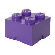 40031749 Cutie depozitare LEGO 2x2 violet mediu
