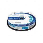 Medii de stocare mediarange Blu-ray BD-R DL, 6x, 50GB, MediaR, 10 unitati (MR507)