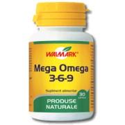 Mega Omega 3-6-9 1200mg, 30 capsule