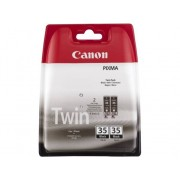 Canon Pack de Ahorro de 2 Cartuchos de tinta Original CANON CANON PGI-35 Negro para PIXMA iP100, iP100 Bundle, iP100 with battery, iP100wb, iP110