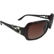 Polo House USA Rectangular Sunglasses(Brown)