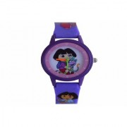 VITREND(R-TM) New Latest Model Dora Simple Round Dial Analog Watch for Boys and Girls(Sent as per available Colour)