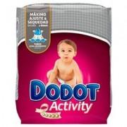 Dodot pañal activity t-4 8-14kg 62u