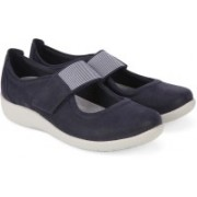 Clarks Sillian Cala Navy Outdoors(Blue)