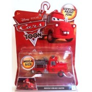 Disney / Pixar CARS TOON 1:55 Die Cast Car Oversized Vehicle Rescue Squad Mater