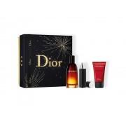Dior Fahrenheit 100 ml EDT VAPO + profumo travel size 10 ml + shower gel 50 ml GIFT SET COFANETTO