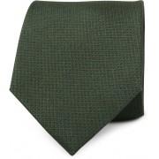 Krawatte Seide Moos Grün - Grün