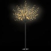 Sonata LED коледно дърво за закрито и открито, IP44 250 см, топло бяло