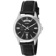 Casio Enticer Analog Black Dial Mens Watch - MTP-1381L-1AVDF (A844)