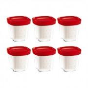 Set de 6 pot yaourt multi délices Seb