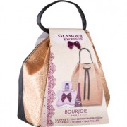 Bourjois Glamour Excessive lote de regalo I. eau de parfum 50 ml + esmalte de uñas 9 ml + bolsa para cosméticos 1 ks