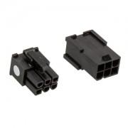 Set conectori CableMod Connector Pack - 6 pin PCIe - Black