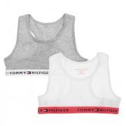 Boxershorts Meisjes Bralette 2-pack White & Grey