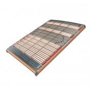 FMP Matratzenmanufaktur 7 Zonen Lattenrahmen Rhodos Klassisch 44 Leisten 140 x 210 cm
