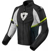 Revit ARC H20 Motorcycle Textile Jacket Black White Yellow 3XL