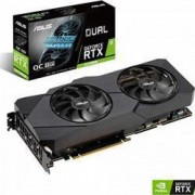Placa video ASUS GeForce Dual RTX 2070 SUPER Evo 8GB GDDR6 256-bit