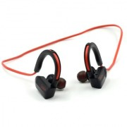Dotin DT-A2 Multi Purpose Wireless Bluetooth Headset with Stereo Hi-Fi Sound - Black Red