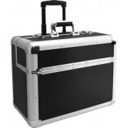 Професионален алуминиев куфар- голям, с колелца 3010104