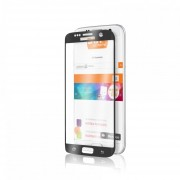 Mica Cristal Templado Para Samsung G930 Galaxy S7 Edge 5D Triple Capa Grueso - Negro
