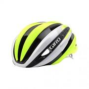 Giro Synthe Helmet - White Highlight Yellow Medium