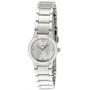 Casio Quartz Silver Round Women Watch LTP-1230D-7CDF(SH35)