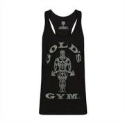 Gold's Gym Muscle Joe Tonal Panel Stringer, Black/Charcoal Medium