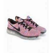 Nike WMNS FLYKNIT AIR MAX Running Shoes For Women(Pink)