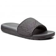Nike Klapki NIKE - Benassi Solarsoft 705474 091 Black/Anthracite