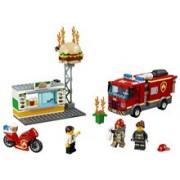 Lego Stingerea Incendiului De La Burger Bar