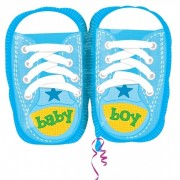 Balon folie papucei albastri