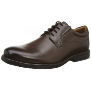 Clarks Men's Hopton Walk Beige Formal Shoes - 7 UK/India (41 EU)