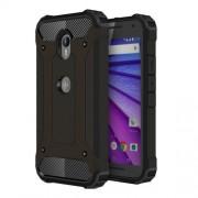For Motorola Moto G (3rd gen) Tough Armor TPU + PC Combination Case(Black)