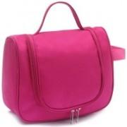 fayby Hanging Cosmetic Bag Makeup Organizer Traveling Storage Bag Travel Toiletry Kit(Black)