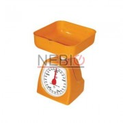 Cantar de bucatarie Dekassa mecanic, 5 kg, Portocaliu