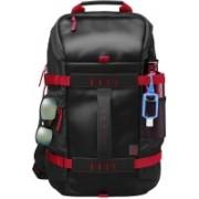 HP 15.6 inch Laptop Backpack (Black, Red) Laptop Bag(Black, Red)