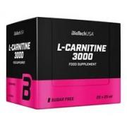Supliment Alimentar L-Carnitina 3000 miligrame 20 fiole Bio Tech USA