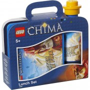 Lego Set de Almuerzo LEGO La Leyenda de Chima (Cantimplora + Tupper Lunch Box)