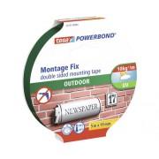 Banda de montaj tesa® Powerbond pentru exterior 19 mm x 5 m