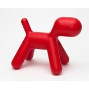 D2 Siedzisko Pies czerwony