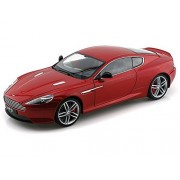 Aston Martin DB9 Coupe, met.-red, LHD , Model Car, Ready-made, Welly 1:18
