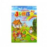Carte de colorat cu povesti si abtibilduri A4 80 pagini Eurobookids vol. 1