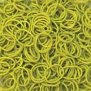 Elastice Rainbow Loom - Standard Olive-600 buc
