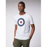 Ben Sherman Main Line Oxford Target T-Shirt XS Oxford Marl