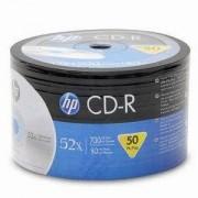 CD-R HP (Hewlett Pacard) 80min./700mb. 52X - 50 бр. в целофан(Printable)