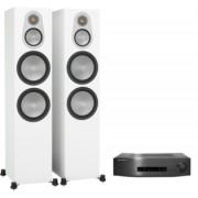 Pachete PROMO STEREO - Monitor Audio - Silver 500 + Cambridge Audio CXA80 Natural Oak