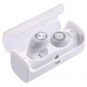 Audífonos Bluetooth Manos Libres Inalámbricos, TWS10 Audifonos Bluetooth Manos Libres True Mini Auricular Estéreo Sin Hilos Con El Zócalo De Carga (blanco)