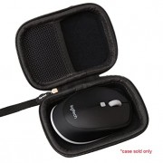 Aproca Hard Storage Travel Case for Logitech M535 / M335 Compact Bluetooth Wireless Optical Mouse (Black)