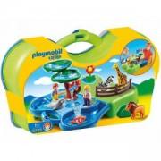 Комплект ПЛЕЙМОБИЛ - кутия за игра - зоопарк, 6792 Playmobil, 291065